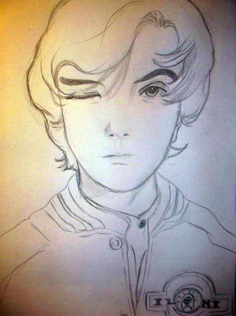 Ender Wiggin Drawing Ender Wiggin Drawing
