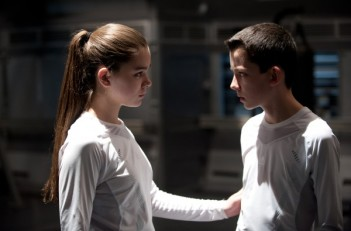 Petra and Ender training