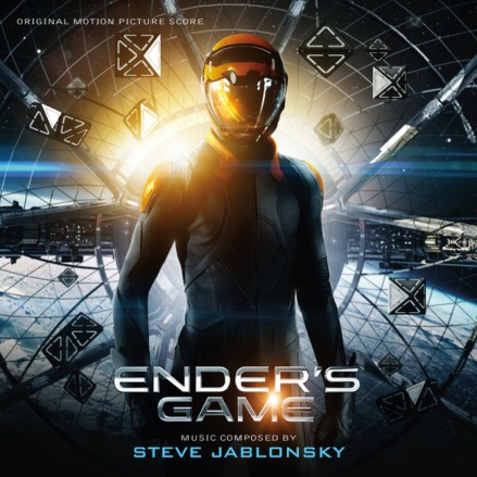 Ender's Game soundtrack front cover