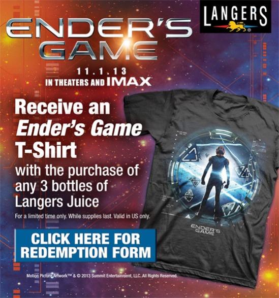 Langers Ender's Game t-shirt
