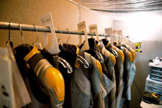 """Ender's Game"" Flash Suits"