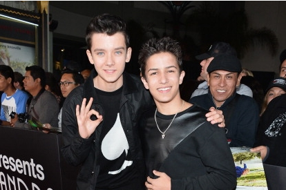 Asa and Aramis at Bad Grandpa premiere