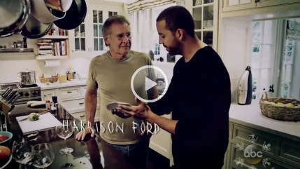 Harrison Ford & David Blaine